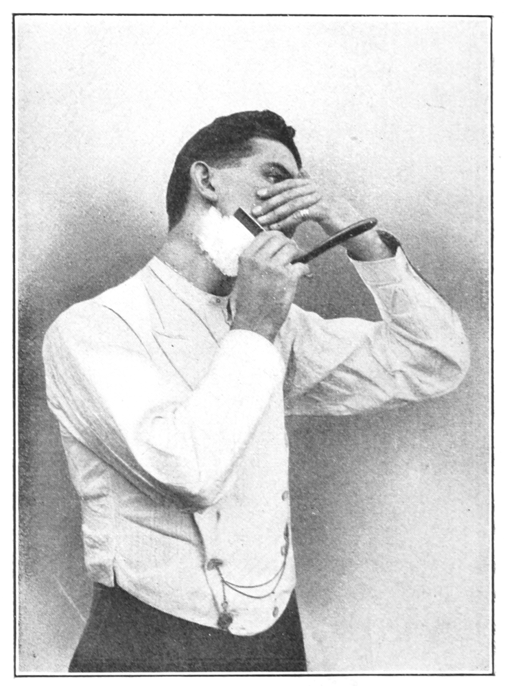 Shaving_Made_Easy,_1905_-_Shaving_the_right_side_under_the_jaw