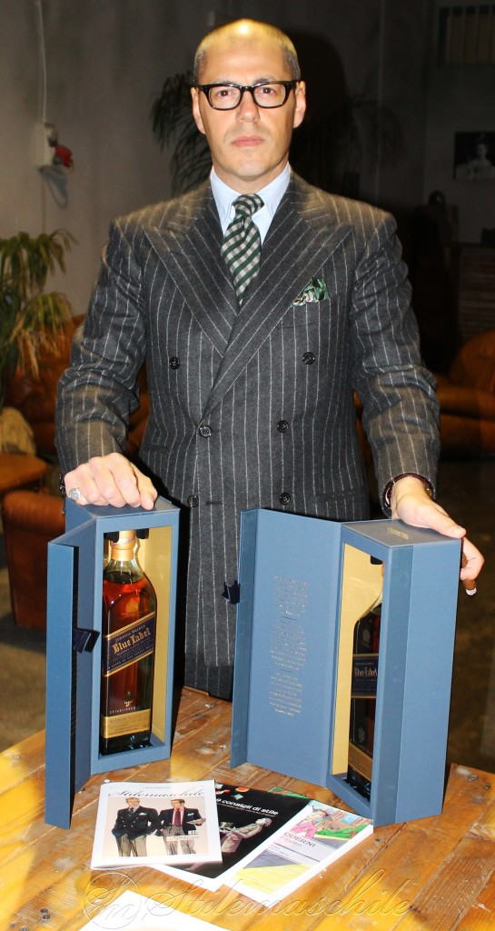 Johnnie Walker Blue Label ha reso l'evento unico